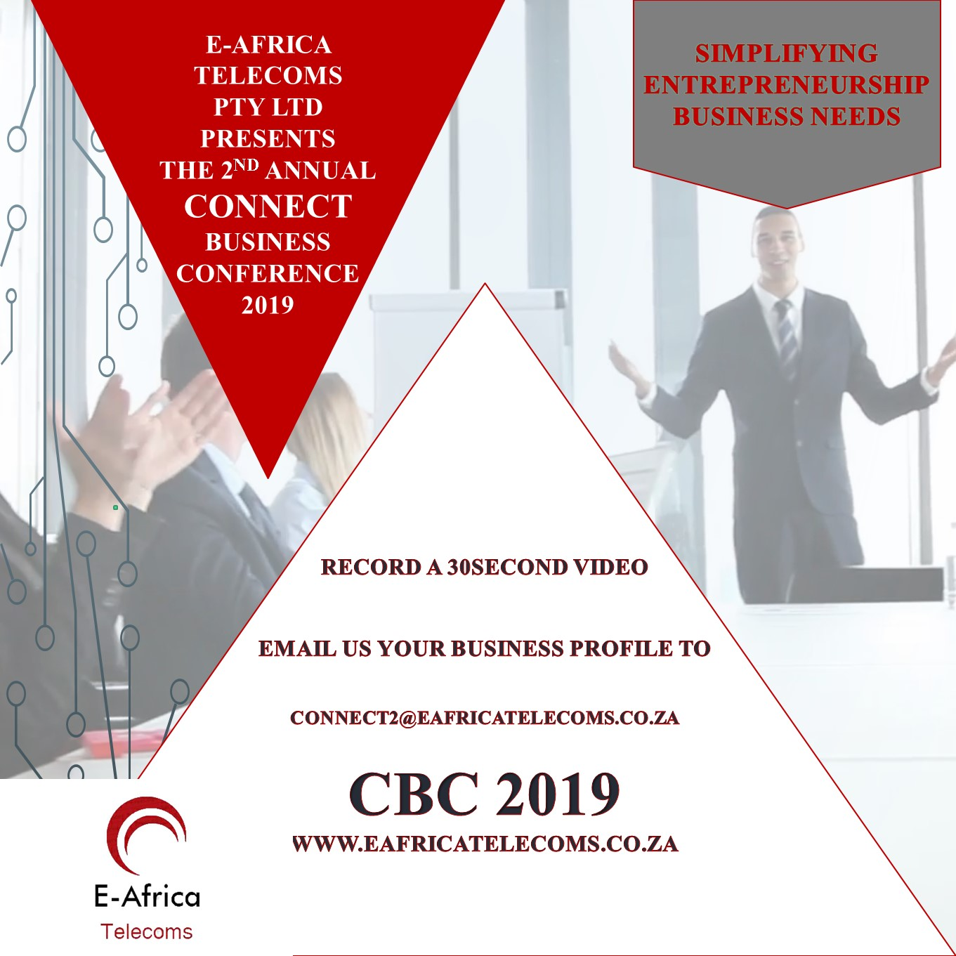 The Connect Business Conference 2019 Banner